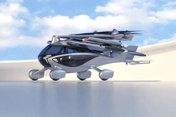 ▲아스카는 자가용 컨셉의 자동차 겸용 eVTOL로 짧은 활주로에서도 이륙할 수 있다. 6개의 로터를 가진 4인승 자동 접이식 eVTOL이다. (사진=NFT)
