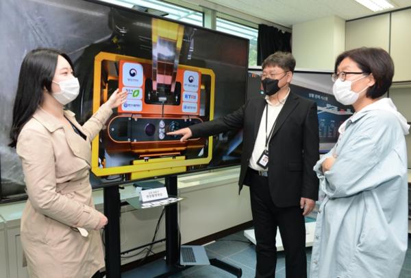 청주 오창 공동구, 전국 최초 디지털 트윈 시범 적용 구현 (사진=ETRI)