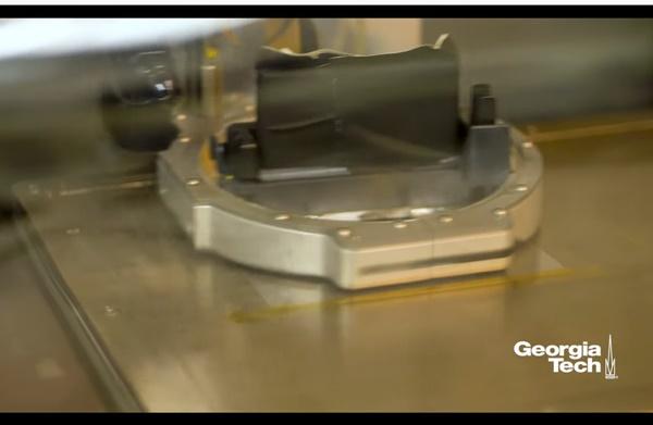 ▲3D프린터로 만들어지는 렉테나는 제작비는 개당 수 센트(몇 십원)에 불과하다. (사진=조지아공대)